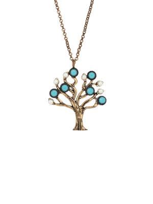 Bohem Hayat Ağacı Kolye